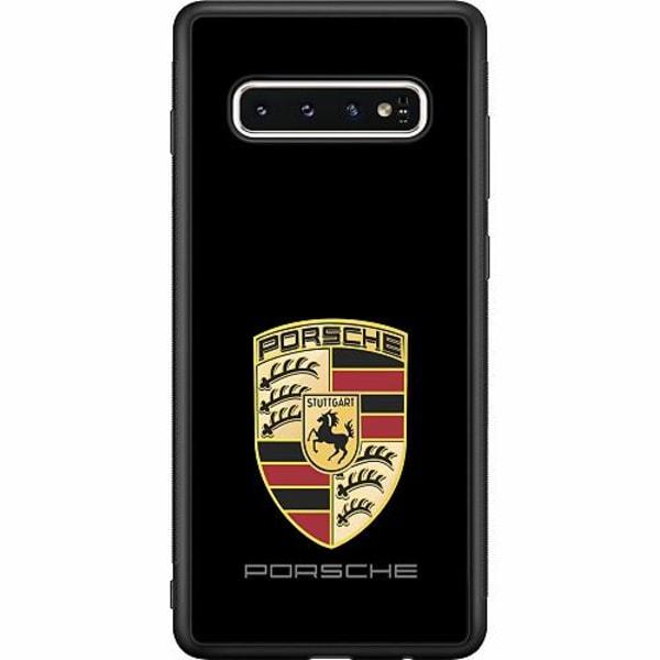 Samsung Galaxy S10 Soft Case (Svart) Porsche