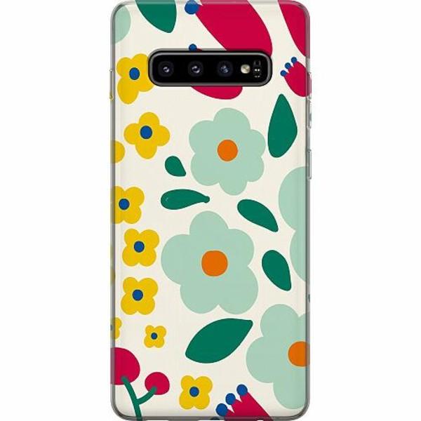 Samsung Galaxy S10 Plus Thin Case Baby Flowers
