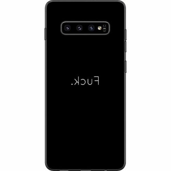 Samsung Galaxy S10 Thin Case >FUCK<