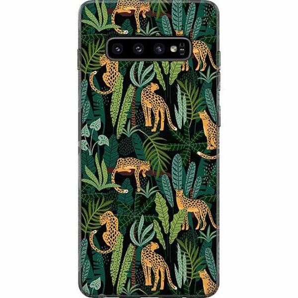 Samsung Galaxy S10 Plus Mjukt skal - Jungle Days