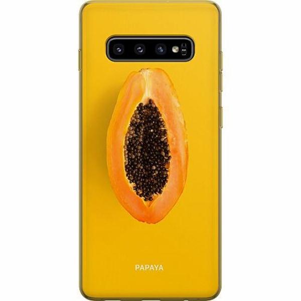 Samsung Galaxy S10 Plus Thin Case Papaya