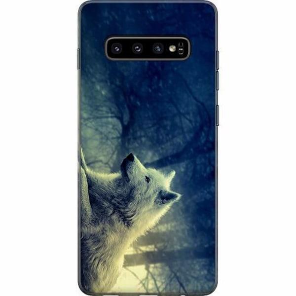 Samsung Galaxy S10 Plus Mjukt skal - Varg