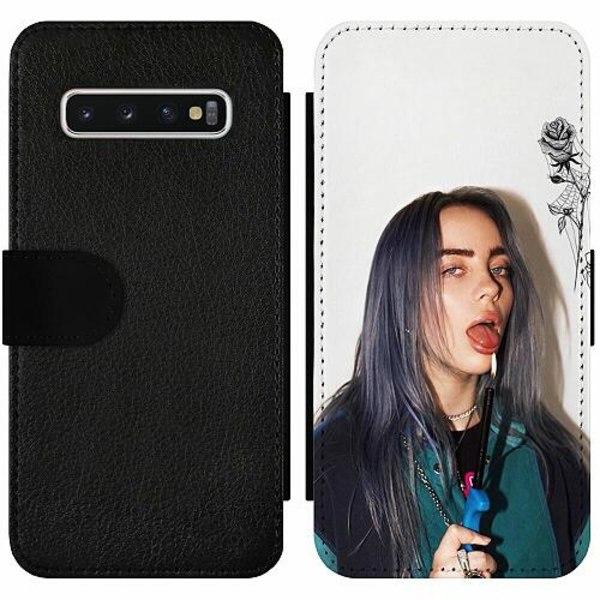 Samsung Galaxy S10 Wallet Slim Case Billie Eilish 2021