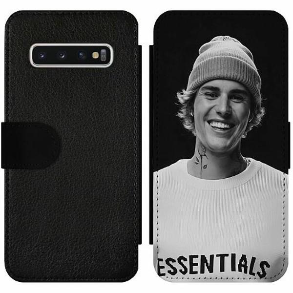 Samsung Galaxy S10 Wallet Slim Case Justin Bieber 2021