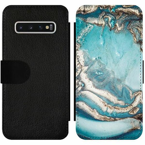 Samsung Galaxy S10 Wallet Slim Case Mönster