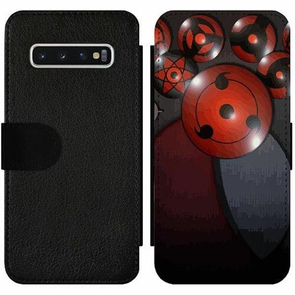 Samsung Galaxy S10 Wallet Slim Case Naruto