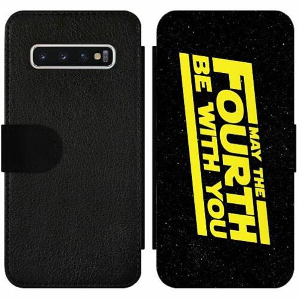 Samsung Galaxy S10 Wallet Slim Case Star Wars