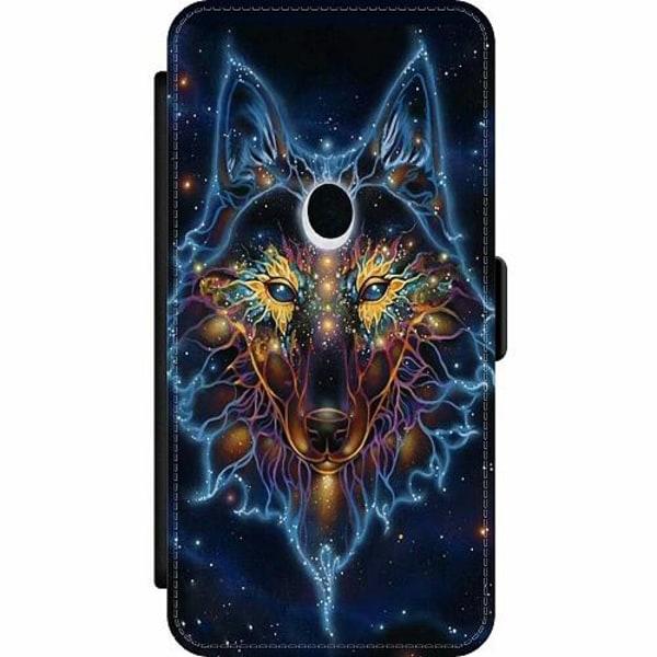 Apple iPhone SE (2020) Wallet Slim Case Wolf / Varg