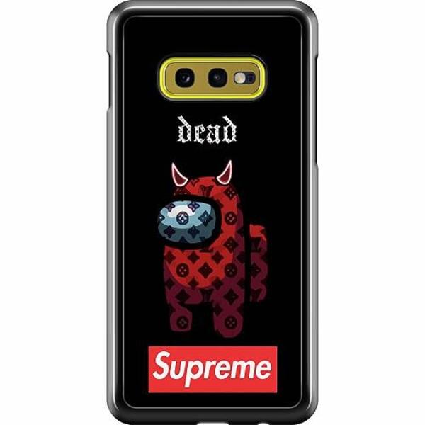 Samsung Galaxy S10e Hard Case (Svart) Among Us 2021