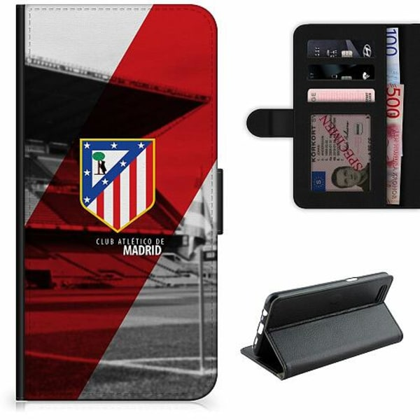 Apple iPhone XR Lyxigt Fodral Club Atlético de Madrid S.A.D