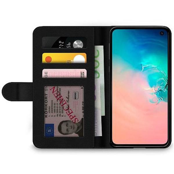 Samsung Galaxy S10e Wallet Case Bokstäver