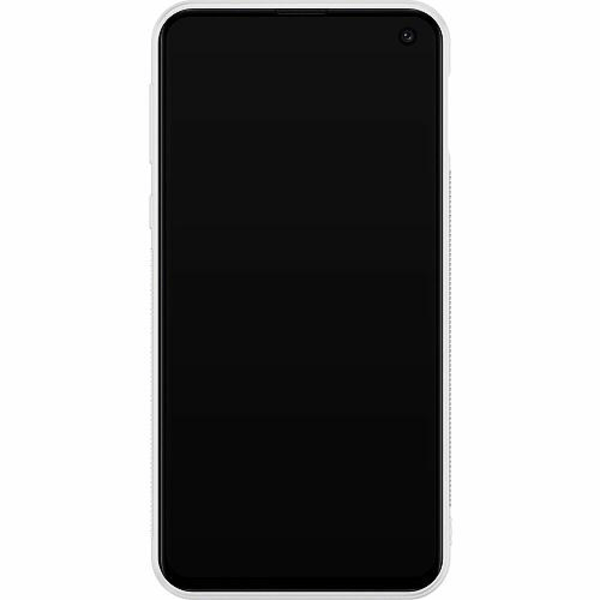 Samsung Galaxy S10e Soft Case (Vit) Tempting Red