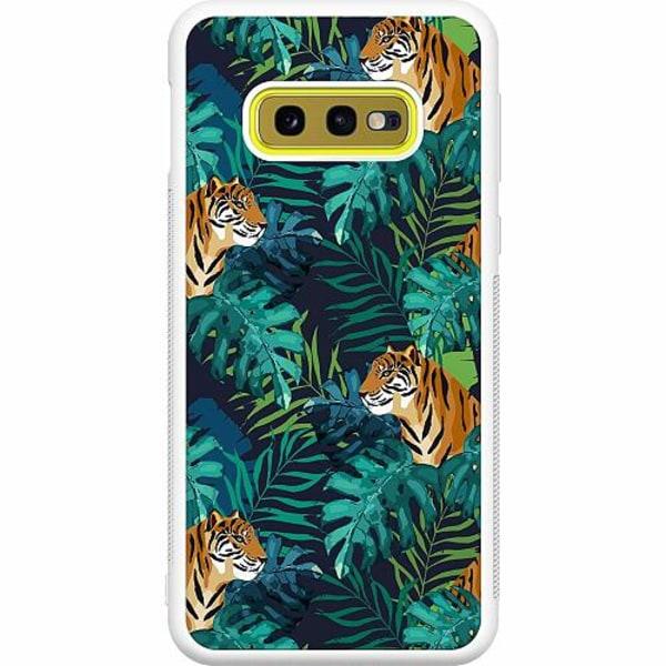 Samsung Galaxy S10e Soft Case (Vit) Tiger