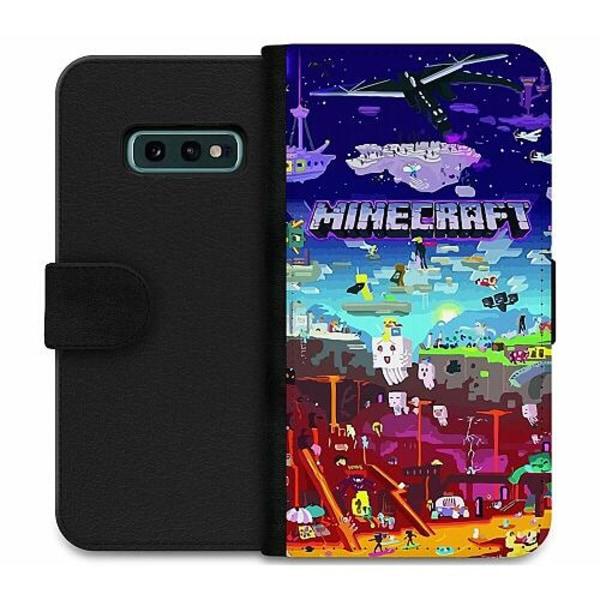 Samsung Galaxy S10e Wallet Case MineCraft