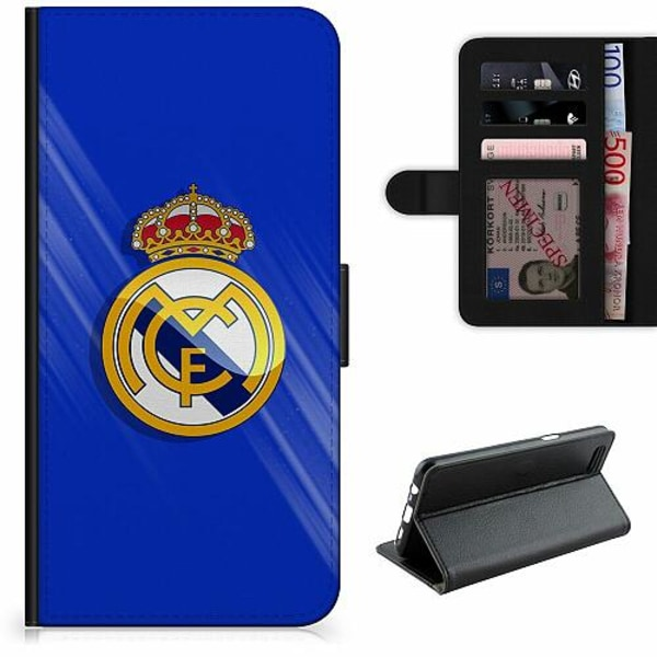 Apple iPhone 5 / 5s / SE Lyxigt Fodral Real Madrid CF
