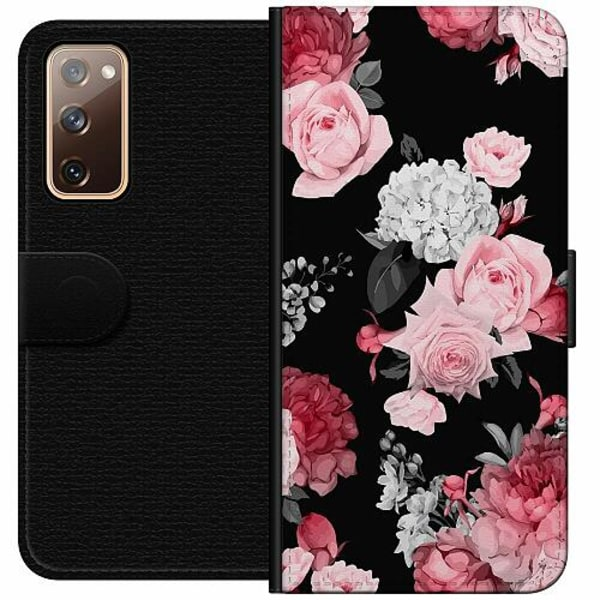 Samsung Galaxy S20 FE Wallet Case Blommor