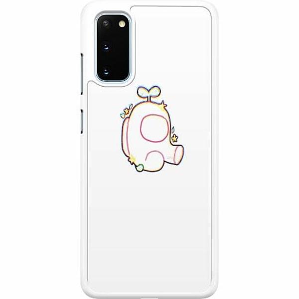Samsung Galaxy S20 Hard Case (Vit) Among Us