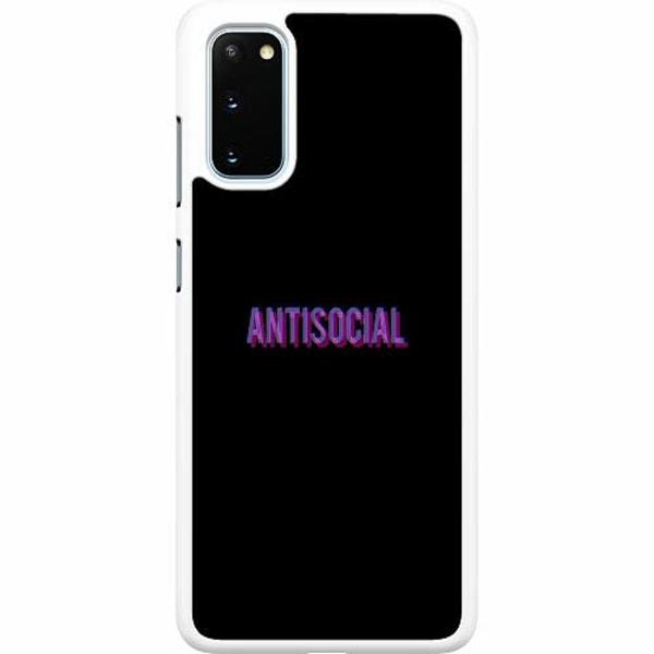 Samsung Galaxy S20 Hard Case (Vit) Antisocial