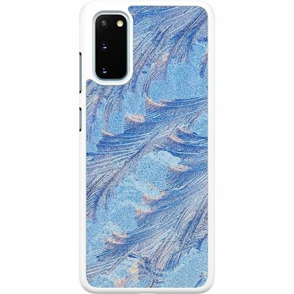 Samsung Galaxy S20 Hard Case (Vit) Arenaceous Feathers