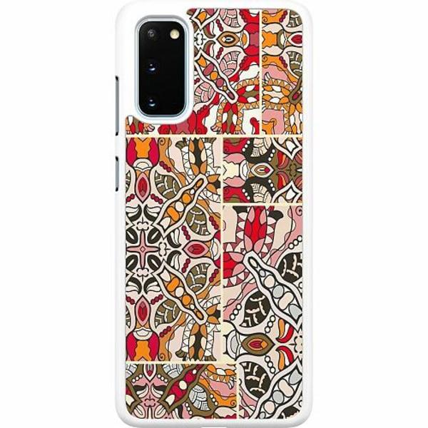 Samsung Galaxy S20 Hard Case (Vit) Artistic Ausdruck