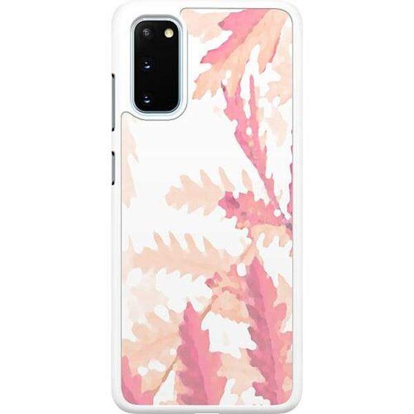 Samsung Galaxy S20 Hard Case (Vit) Autumn Comes