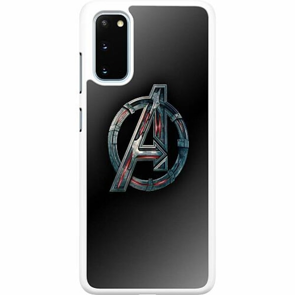 Samsung Galaxy S20 Hard Case (Vit) Avengers