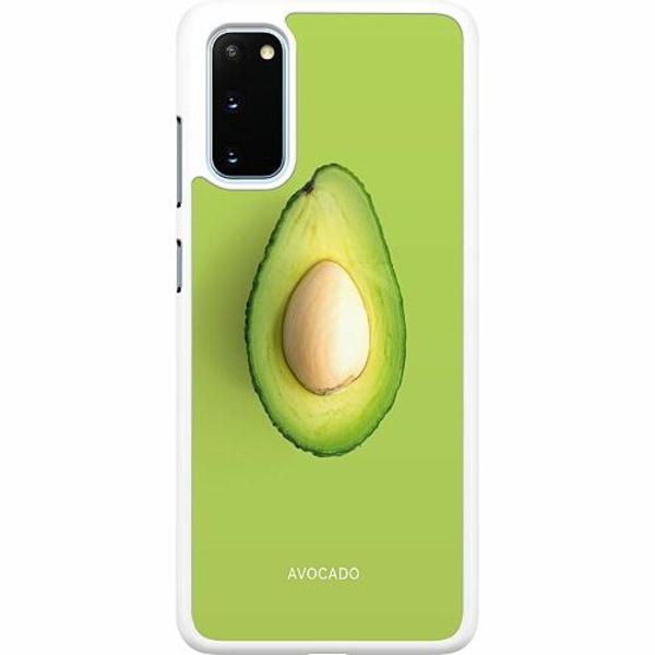 Samsung Galaxy S20 Hard Case (Vit) Avocado