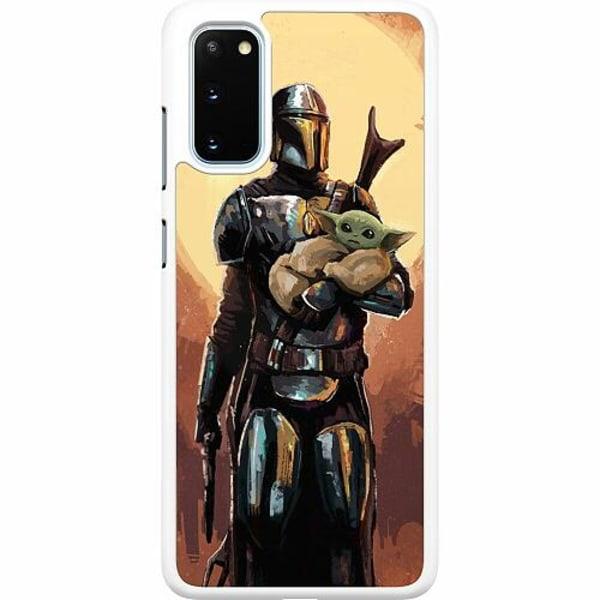 Samsung Galaxy S20 Hard Case (Vit) Baby Yoda