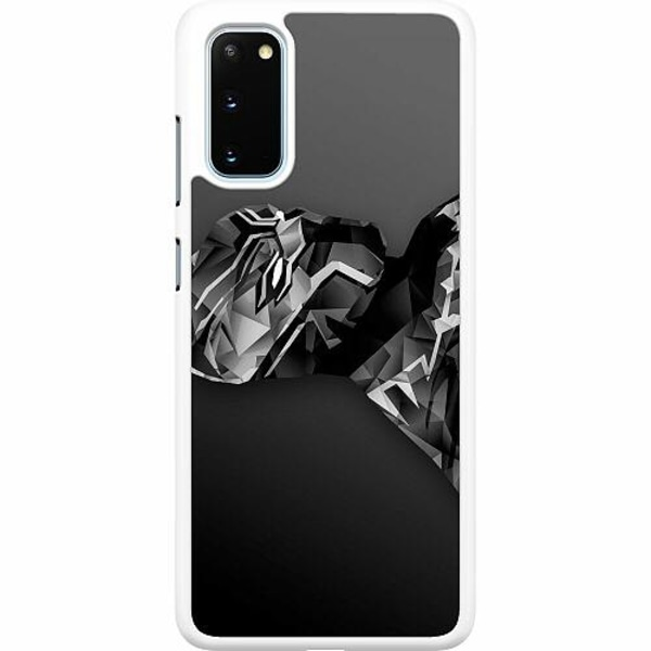 Samsung Galaxy S20 Hard Case (Vit) Black Panther
