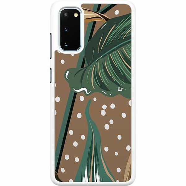 Samsung Galaxy S20 Hard Case (Vit) Browness