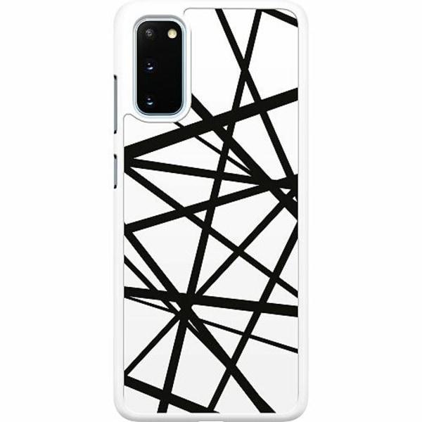 Samsung Galaxy S20 Hard Case (Vit) Caught In Webs