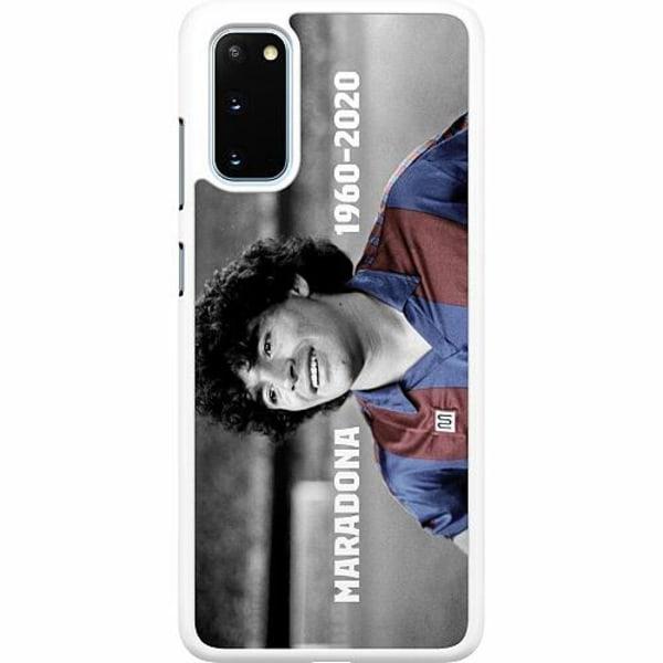 Samsung Galaxy S20 Hard Case (Vit) Diego Maradona