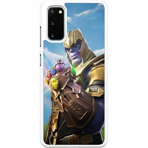 Samsung Galaxy S20 Hard Case (Vit) Fortnite