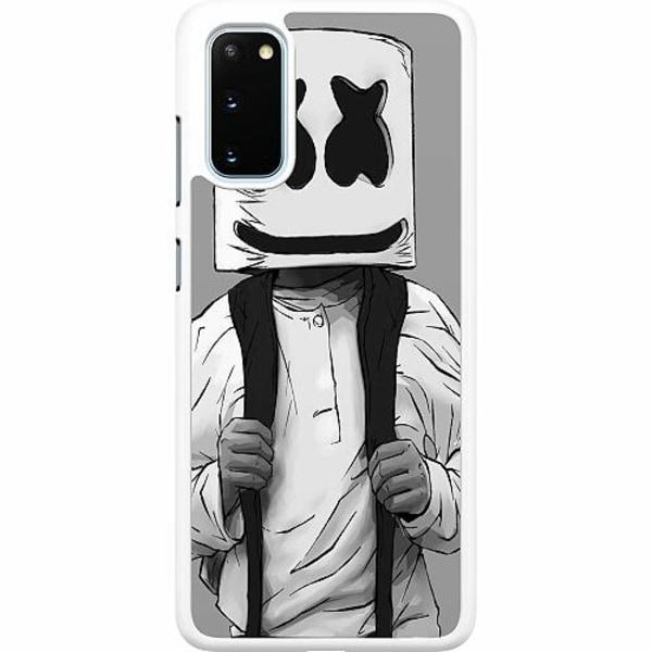 Samsung Galaxy S20 Hard Case (Vit) Fortnite Marshmello