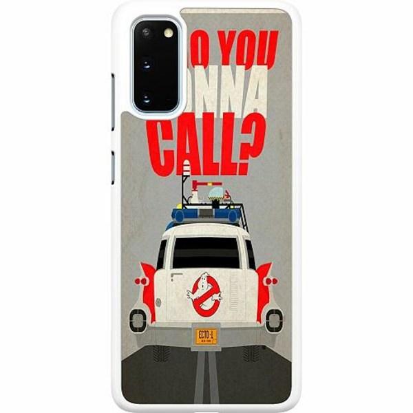 Samsung Galaxy S20 Hard Case (Vit) Ghostbusters