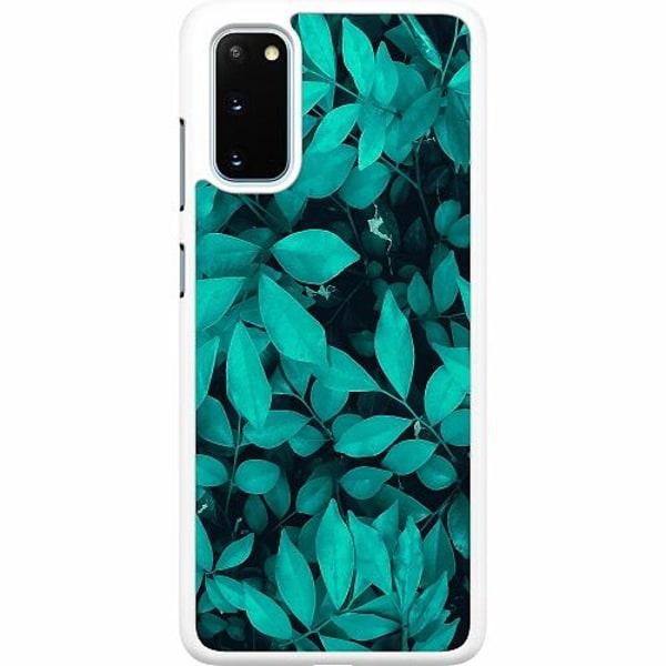 Samsung Galaxy S20 Hard Case (Vit) Green Bliss