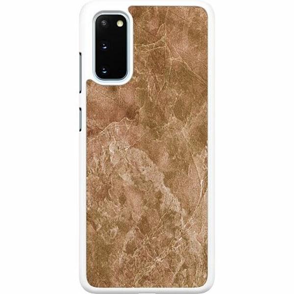 Samsung Galaxy S20 Hard Case (Vit) Hardened