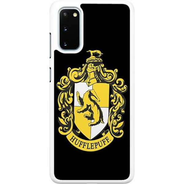 Samsung Galaxy S20 Hard Case (Vit) Harry Potter - Hufflepuff