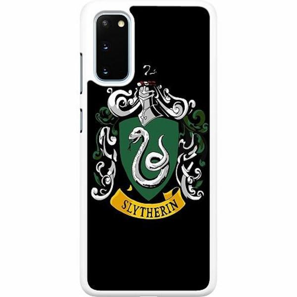 Samsung Galaxy S20 Hard Case (Vit) Harry Potter - Slytherin