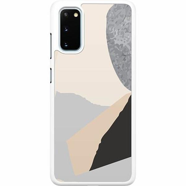 Samsung Galaxy S20 Hard Case (Vit) Hawaii Retro