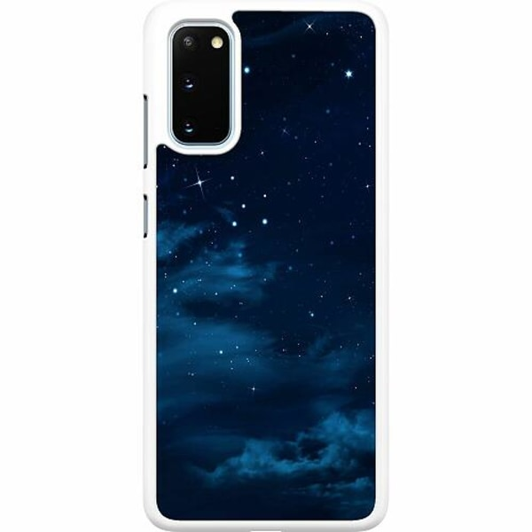 Samsung Galaxy S20 Hard Case (Vit) Himmel