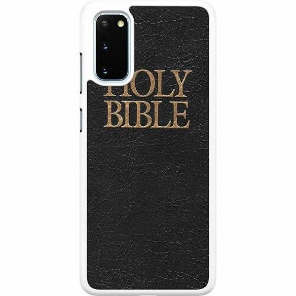 Samsung Galaxy S20 Hard Case (Vit) Holy Bible