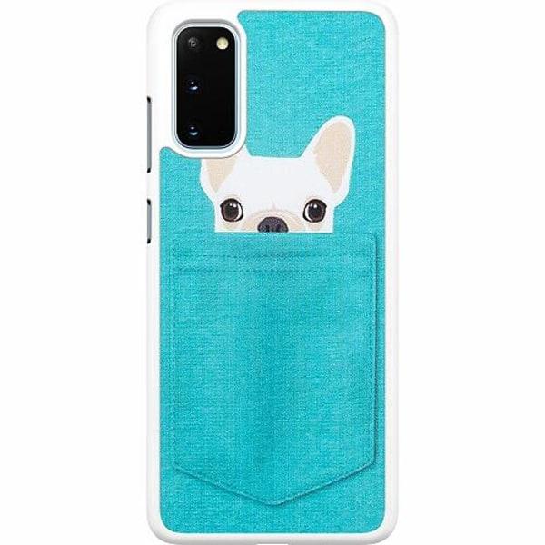 Samsung Galaxy S20 Hard Case (Vit) Hund