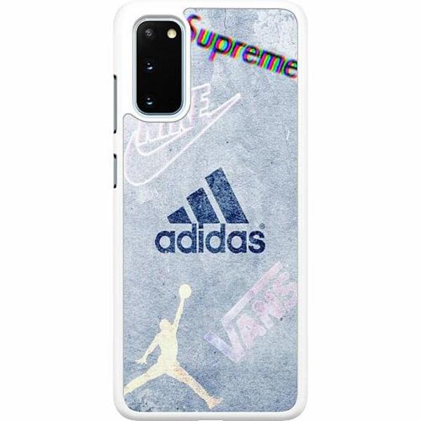Samsung Galaxy S20 Hard Case (Vit) Ice