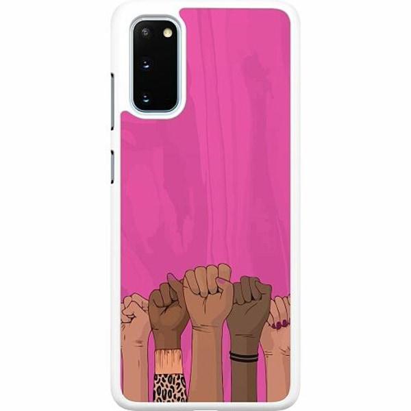 Samsung Galaxy S20 Hard Case (Vit) International Women's Day