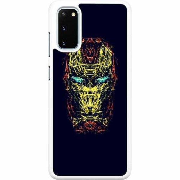 Samsung Galaxy S20 Hard Case (Vit) Iron