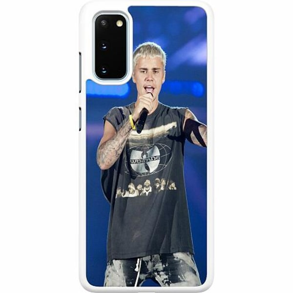 Samsung Galaxy S20 Hard Case (Vit) Justin Bieber 2020