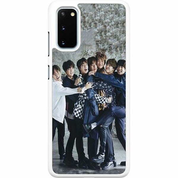 Samsung Galaxy S20 Hard Case (Vit) K-POP BTS
