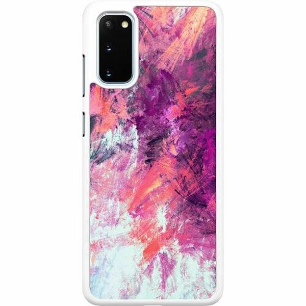 Samsung Galaxy S20 Hard Case (Vit) Keep Painting