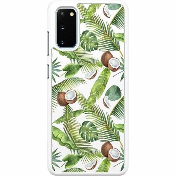 Samsung Galaxy S20 Hard Case (Vit) Kokosnöt